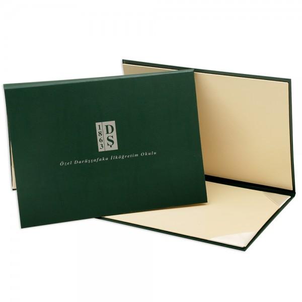 Yeşil Diploma Kabı