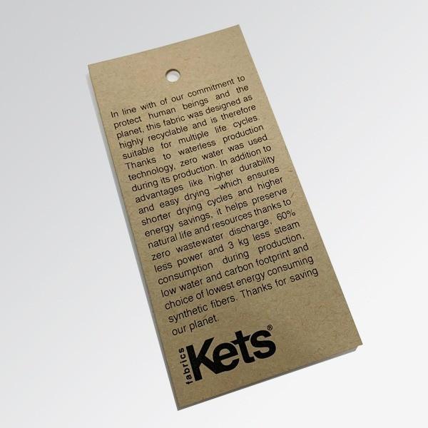 Kraft Tekstil Etiketi
